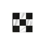 Checkered Race Style Square Flags (3'x3')