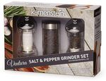 Custom Kamenstein Ventura Salt and Pepper Grinder Set