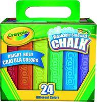 Crayola® 24 Count Washable Sidewalk Chalk
