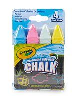 Crayola® 4 Count Sidewalk Chalk