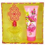 Custom Betsey Johnson Gift Set - 3.4 Oz Eau De Parfum Spray and 6.7 Oz Body Lotion