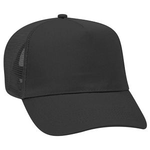 1561825a OTTO Promo Cotton Blend Twill 5 Panel Pro Style Mesh Back Trucker Hat -  32-1104 - Swag Brokers