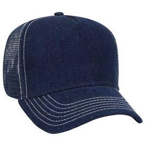 Custom Five Panel Pro Style Mesh Back Cap