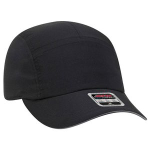 OTTO 5 Panel Polyester Pongee Reflective Sandwich Visor Running Hat -  133-1252 - IdeaStage Promotional Products 061a1cf58077