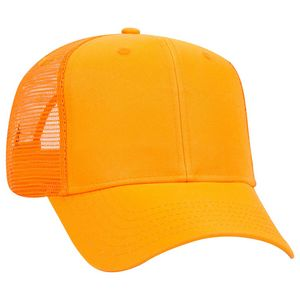 Custom Six Panel Pro Style Mesh Back Cap