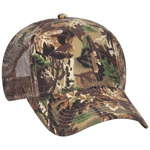 OTTO Camouflage Cotton Blend Twill 6 Panel Low Profile Mesh Back Trucker Hat  - 105-751 - Swag Brokers 961a5020b37a