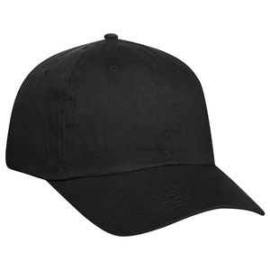 Custom OTTO Brushed Promo Cotton Twill 6 Panel Low Profile Baseball Cap