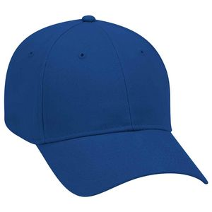 Custom OTTO Brushed Cotton Twill 6 Panel Low Profile Baseball Cap