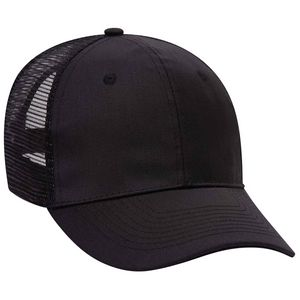 d135e060 OTTO Promo Cotton Blend Twill Pro Style Mesh Back Trucker Hat - 30-1103 -  IdeaStage Promotional Products