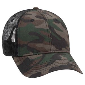 Custom Printed Camouflage Hats with a Mesh Back!