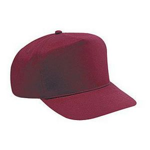 OTTO Brushed Cotton Twill High Crown Golf Baseball Cap