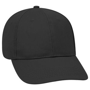 Custom OTTO Promo Cotton Blend Twill 6 Panel Low Profile Baseball Cap