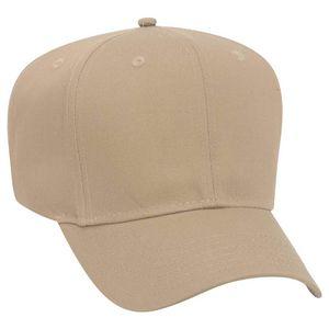 Custom OTTO Promo Cotton Blend Twill 6 Panel Pro Style Baseball Cap