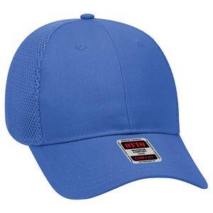 Custom OTTO 6 Panel Low Profile Cotton Twill w/ Polyester Air Mesh Back Baseball Cap