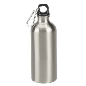 22 Oz. Stainless Steel Sports Water Bottle w/Carabiner