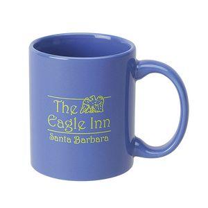 11 Oz. C-Handle Mug (Two Tone & Solid Colors)