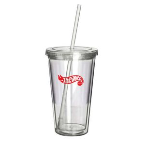 16 Oz. Clearwater Acrylic Tumbler - Clear