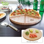 Custom Gourmet Bamboo Pizza Set/ Cutting Board