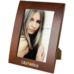 Custom Ferrara - Walnut Finish Photo Frame (5