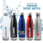 Custom Quench - Stainless Steel Cola Bottle