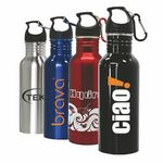 Custom Yorba - 22 Oz. Stainless Steel Sports Bottle
