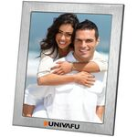 Custom Lecce - Brushed Metal Photo Frame (8