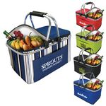 Custom Collapsible Insulated Picnic Basket