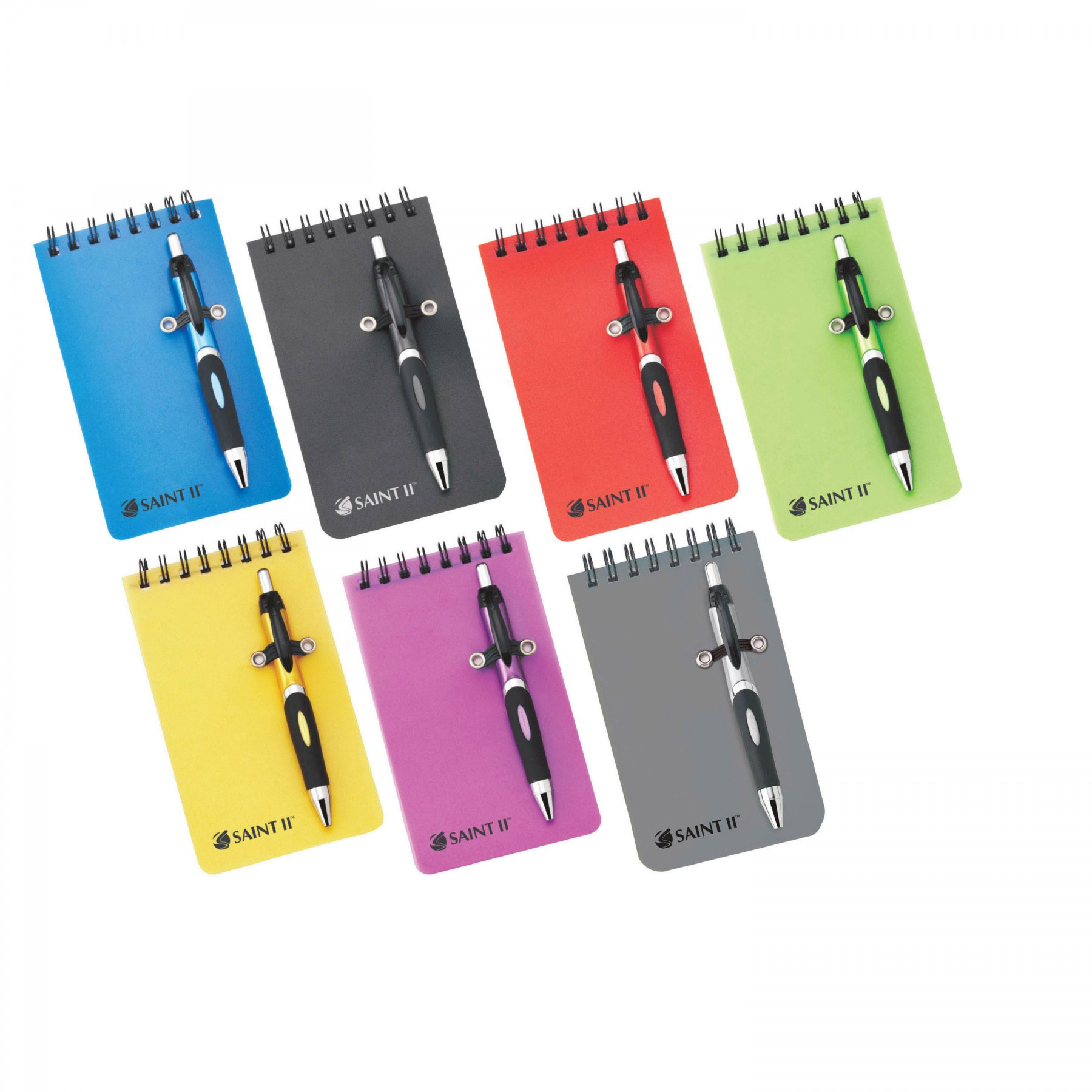 Mini Helix Polypro Memo Book Combo, ST49, One Colour Imprint