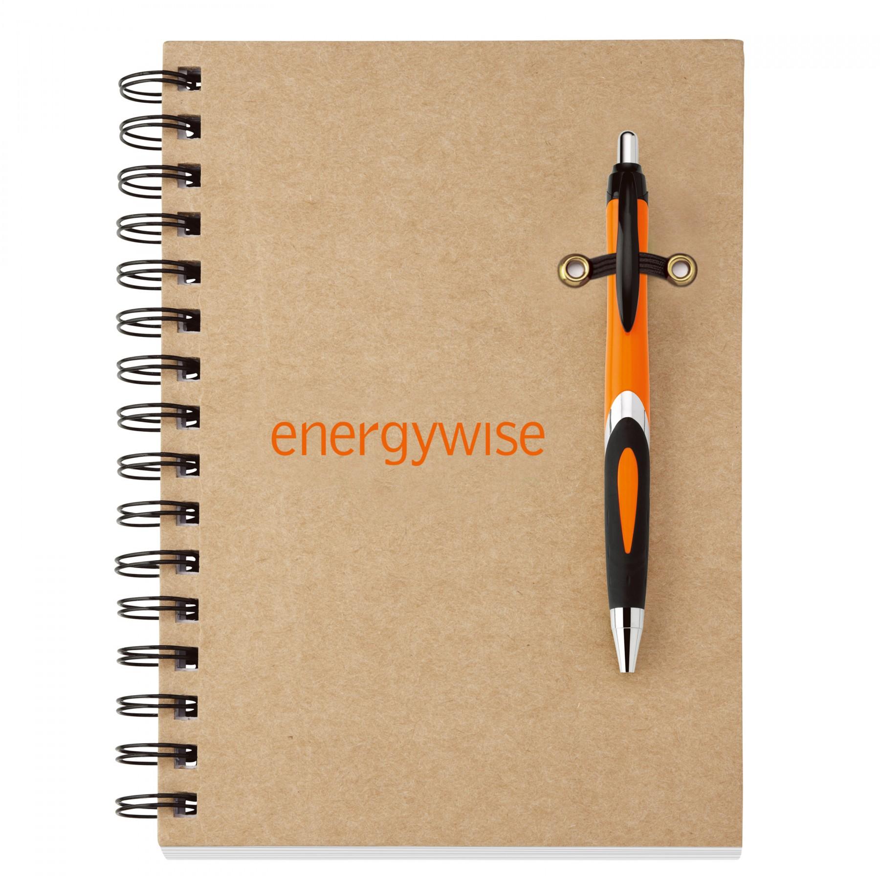Helix-Eco Notebook Combo - 1 Colour Imprint (EC6058)