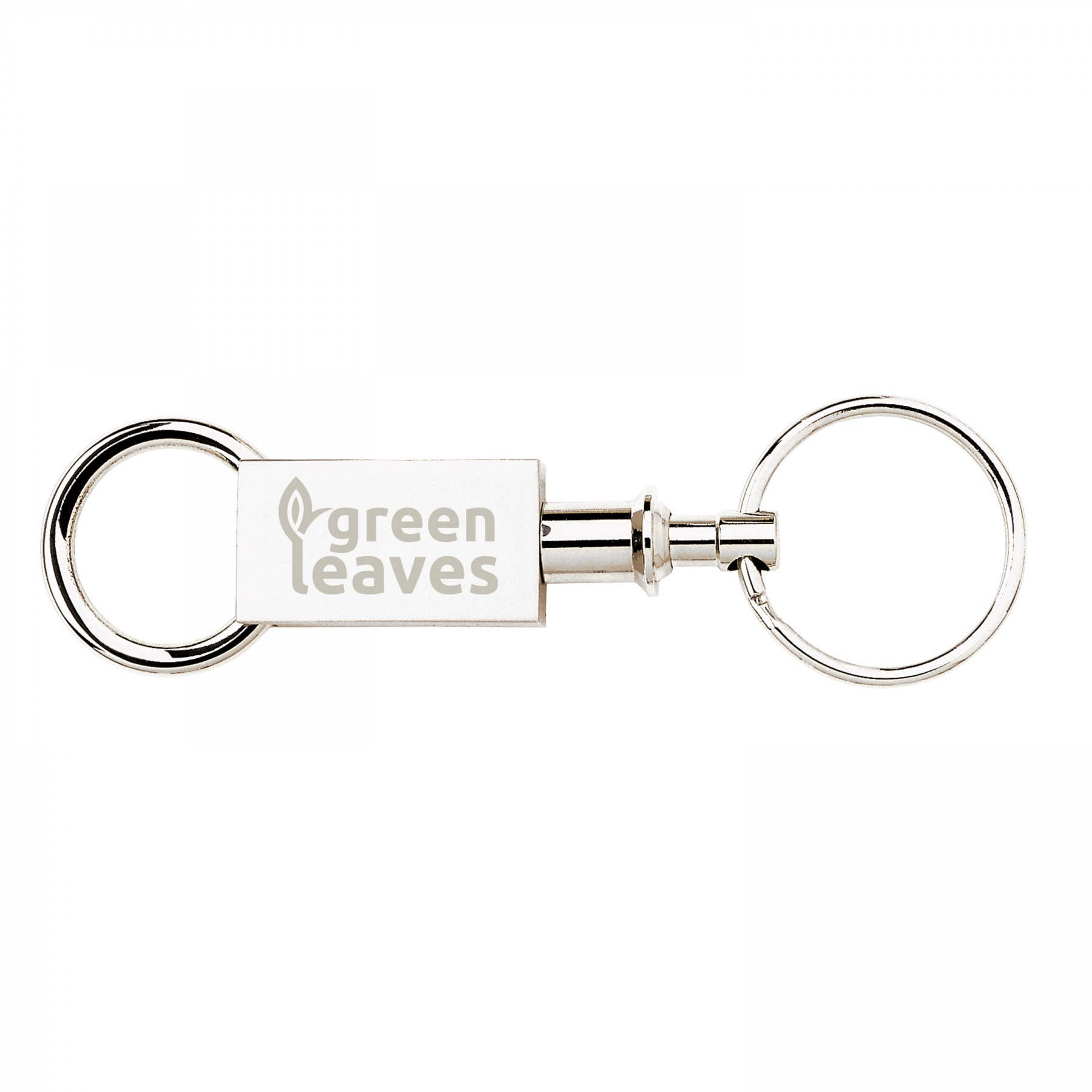 Pull-Apart Key Ring - Laser Engraved (G801)