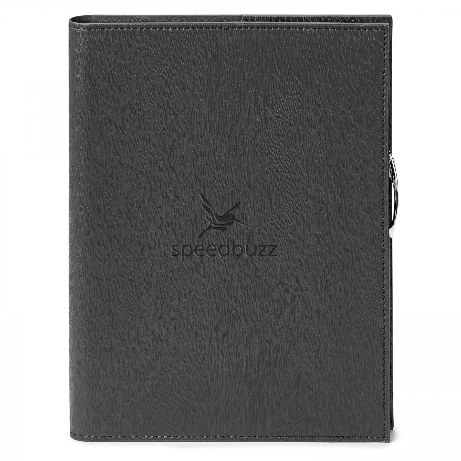 Ronan Refillable Journal Combo, ST4592, Debossed Logo