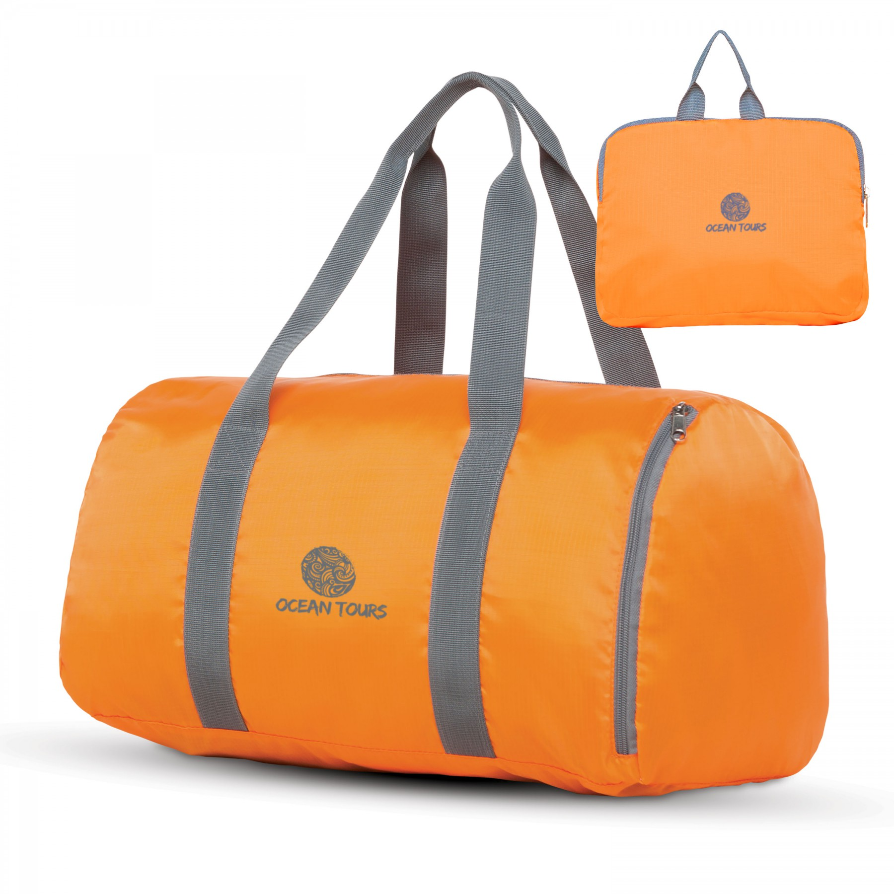 Make It Pop Packable Duffle, BG202, One Colour Imprint