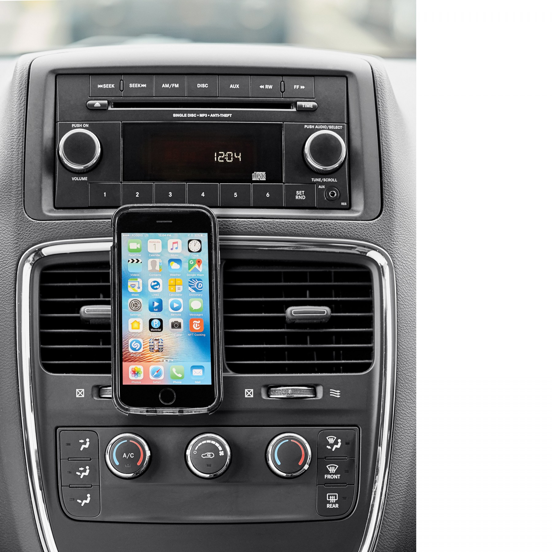Hudson Vehicle Smartphone Holder, T804, Laser Imprint