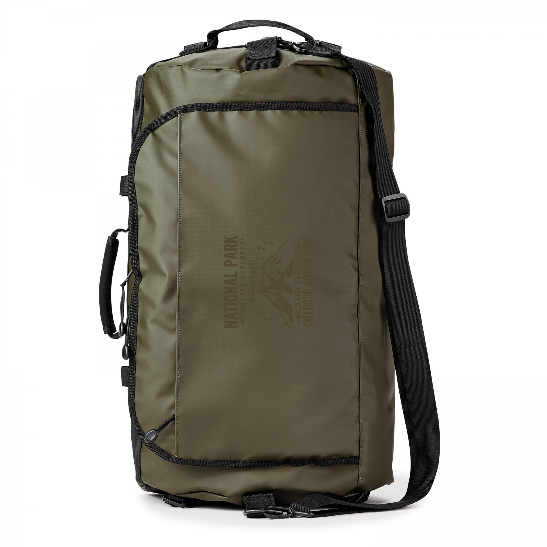 Call Of The Wild Water Resistant 45l Duffle Backpack, BG207, One Colour Imprint
