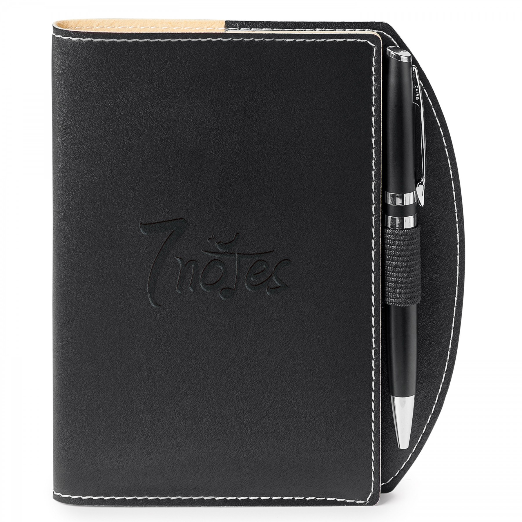 Bradford Refillable Journal Combo, ST4138, Debossed Logo