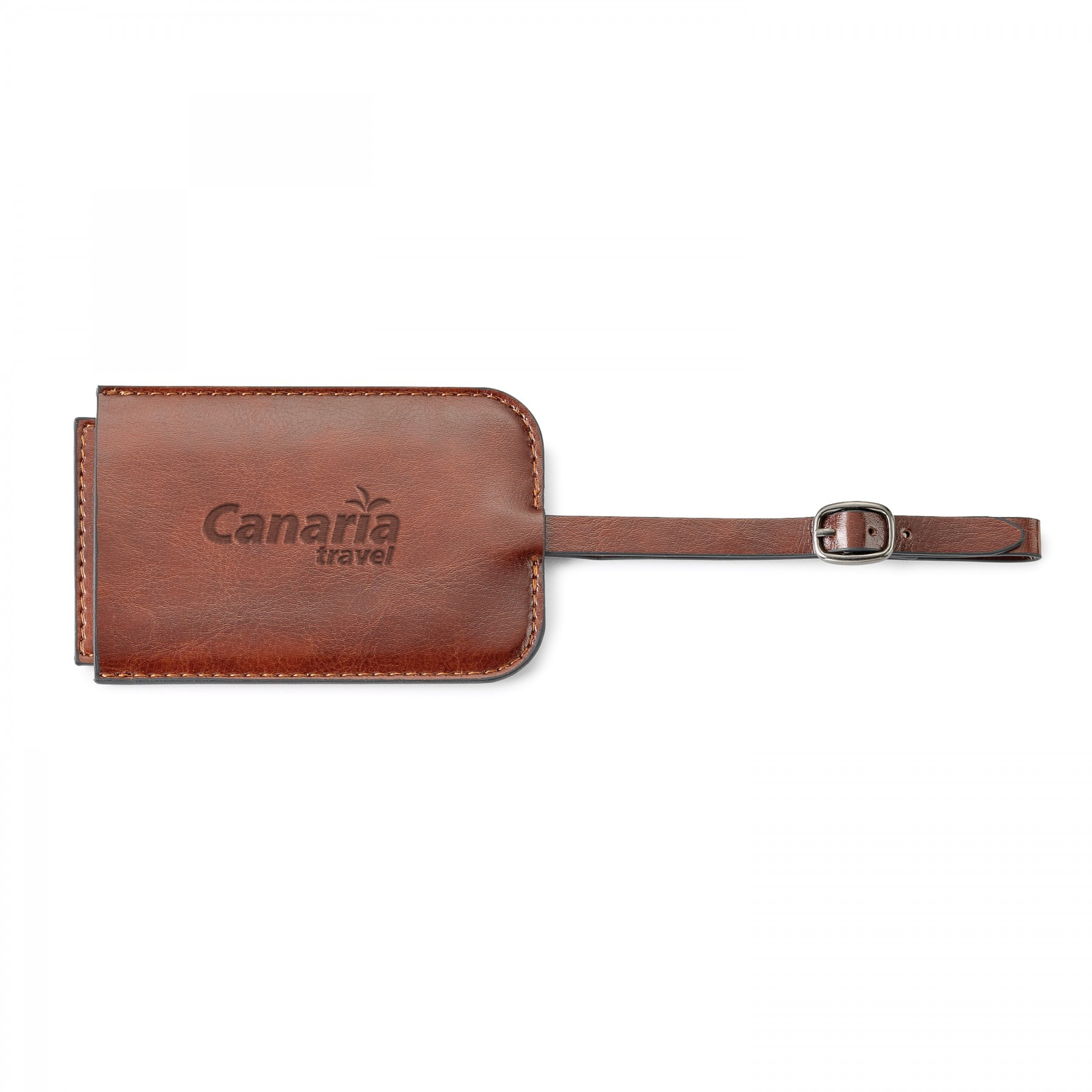 Fabrizio Luggage Tag, G523, Debossed Logo
