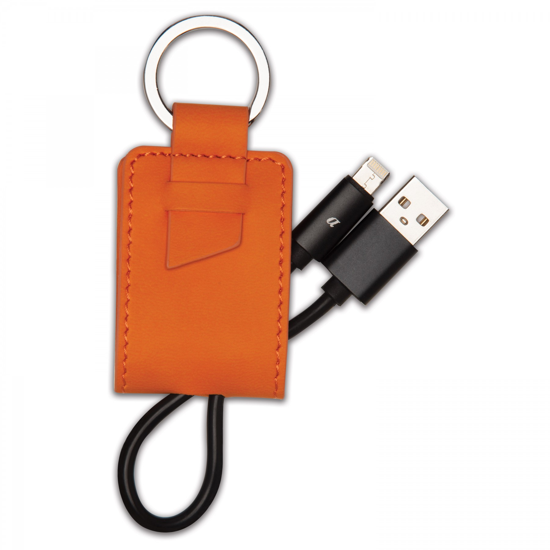 Donald Key Ring/Charging Kit, T991, Debossed Logo