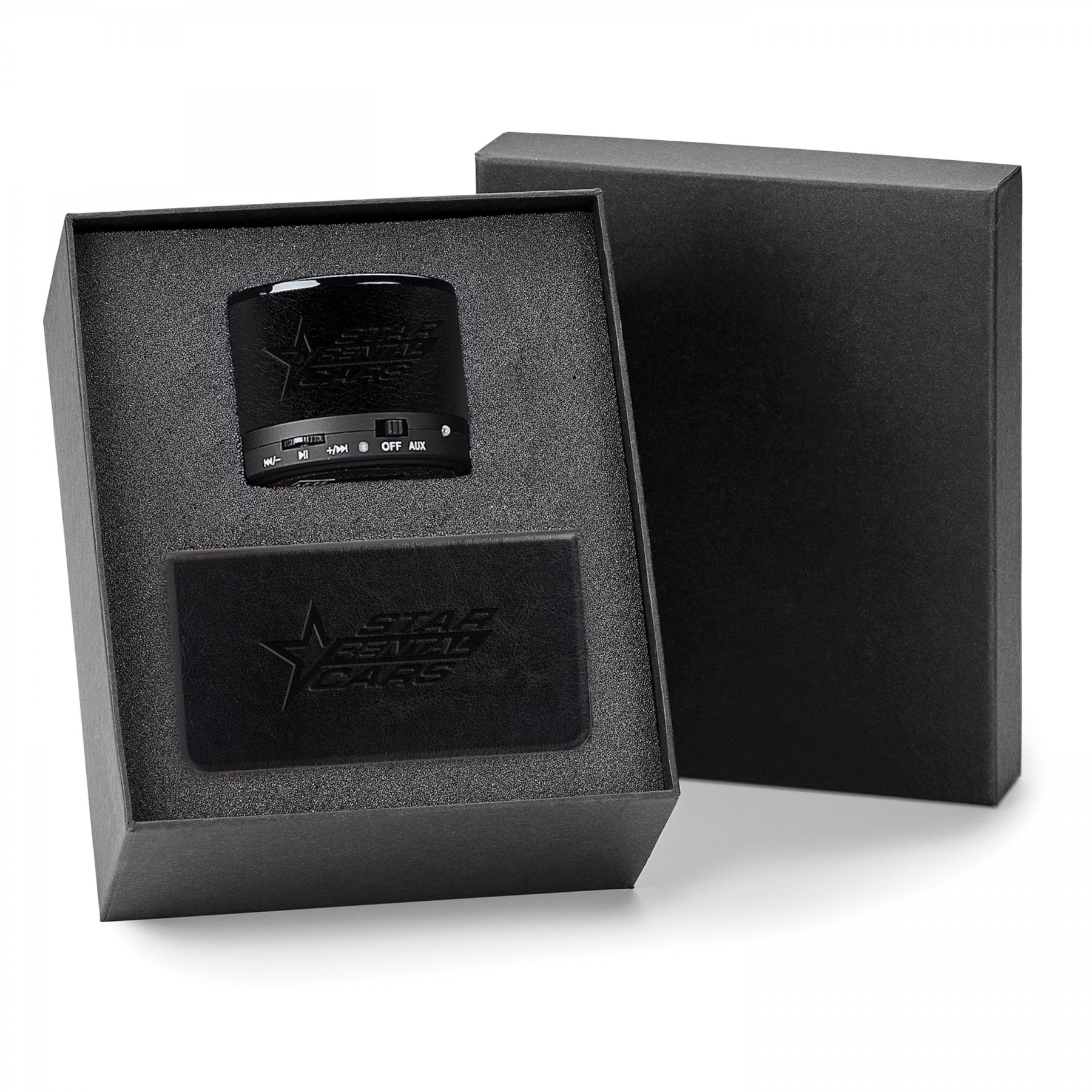 2-Piece Gift Set, G6876, Debossed Logo