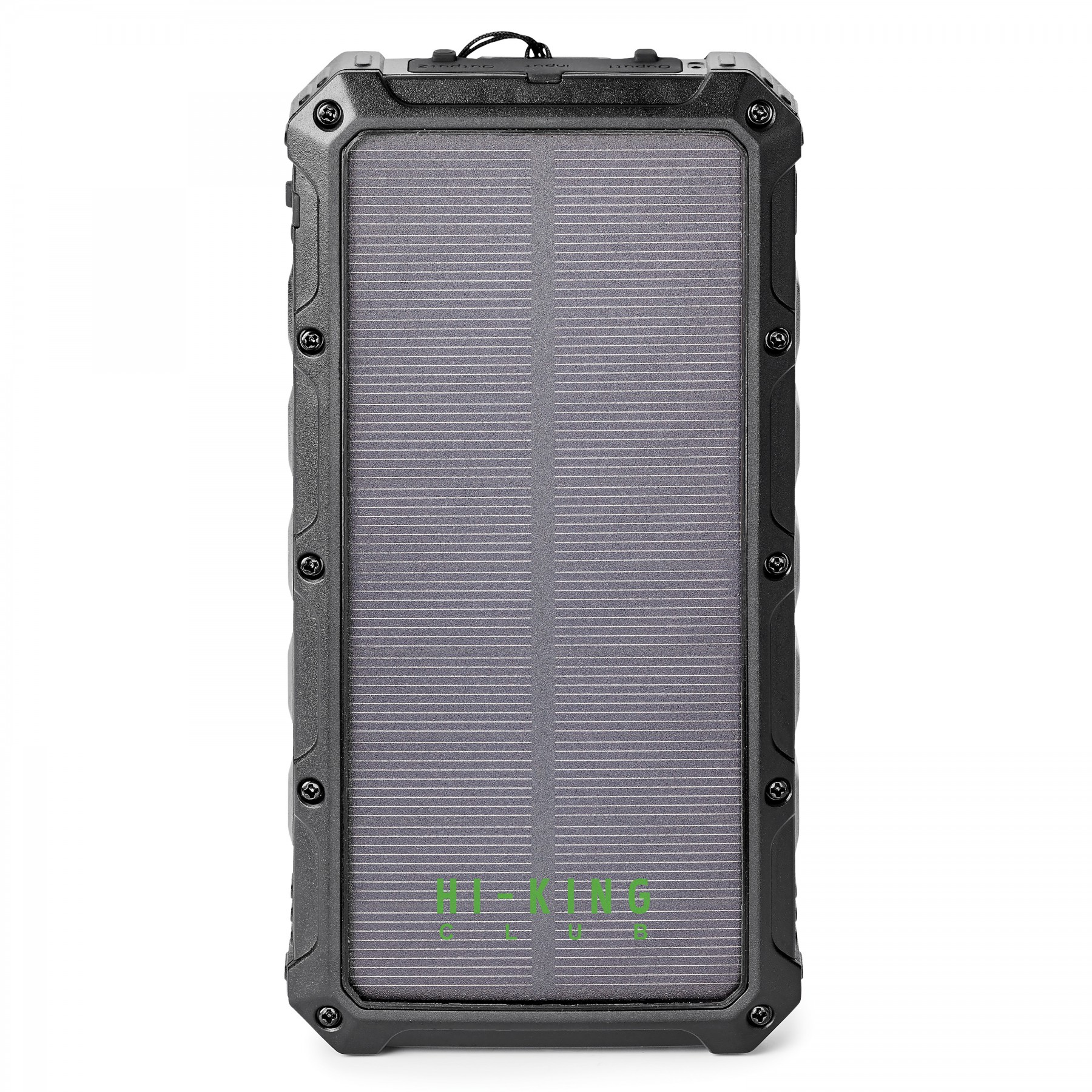 SUPER OFF-ROAD 12,000 mAh SOLAR WIRELESS POWER BANK INCLUDES UL CERTIFIED BATTERY, T1037, One Colour Imprint