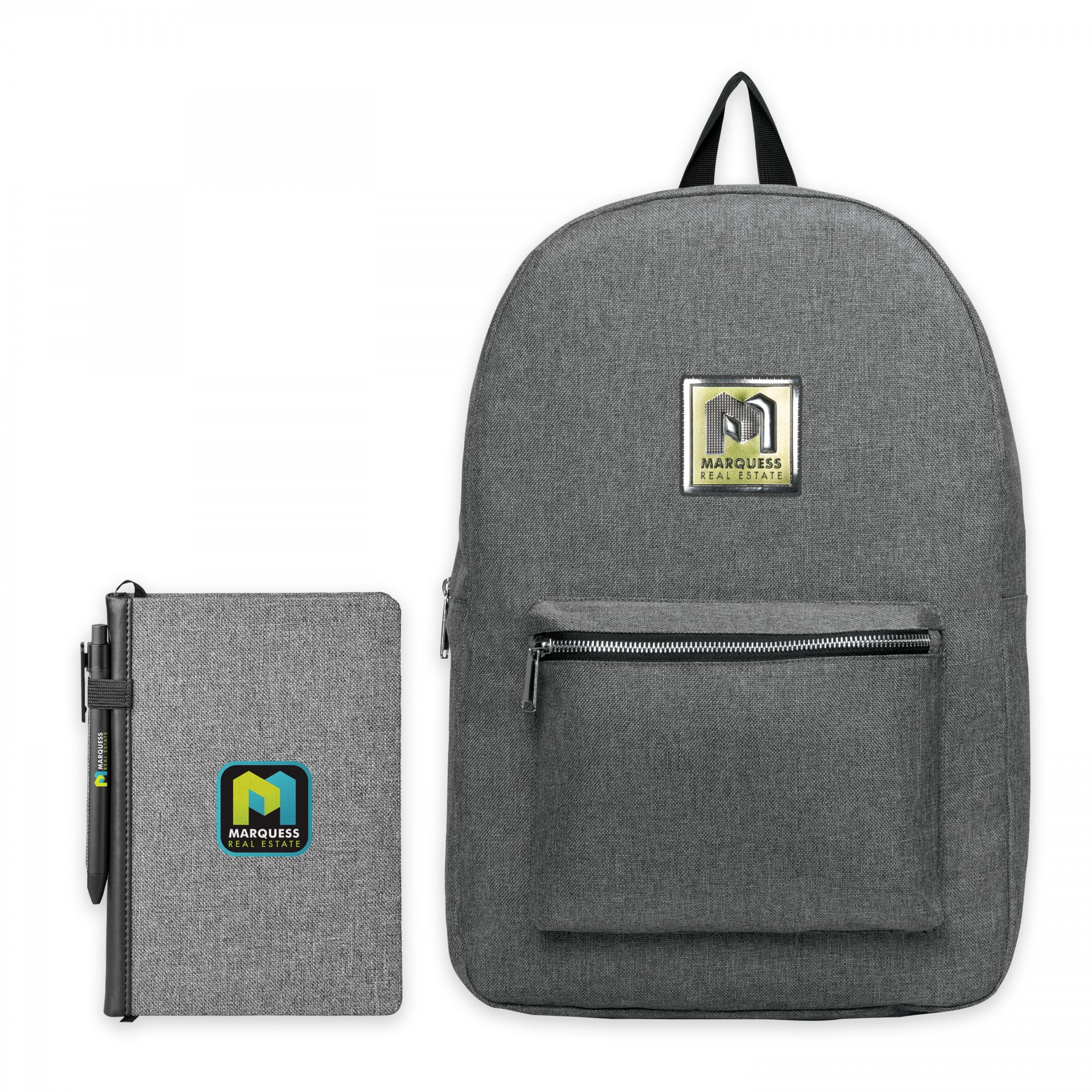 Nomad Must Haves Classic Backpack Welcome Pack Bundle, BB124, Full Colour Imprint