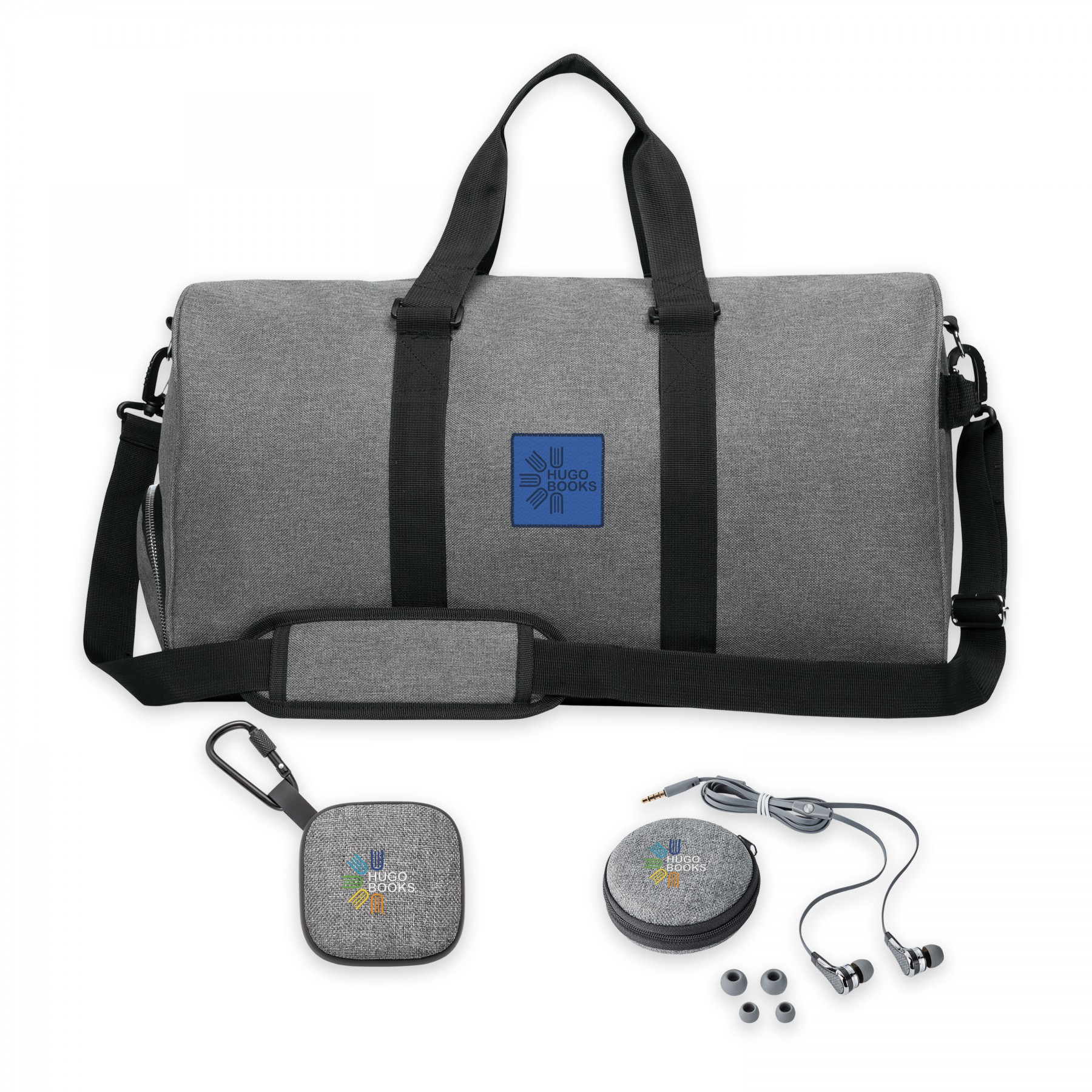 Nomad Must Haves Duffle Gym Bundle, BB128, Full Colour Imprint