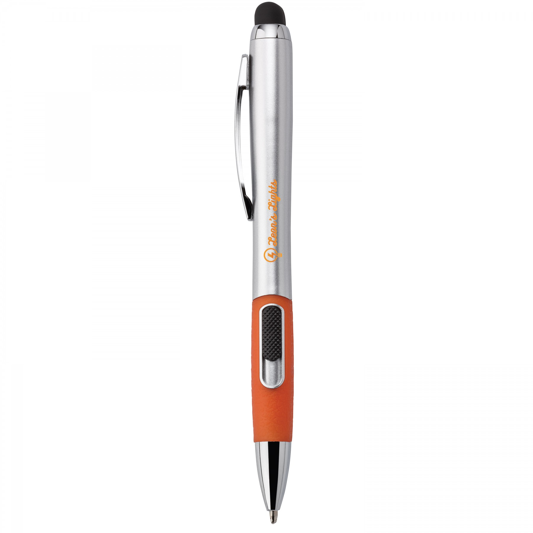 Ophelia 3-In-1 Ballpoint Pen/Stylus With Backlight, I145, Laser Engraved