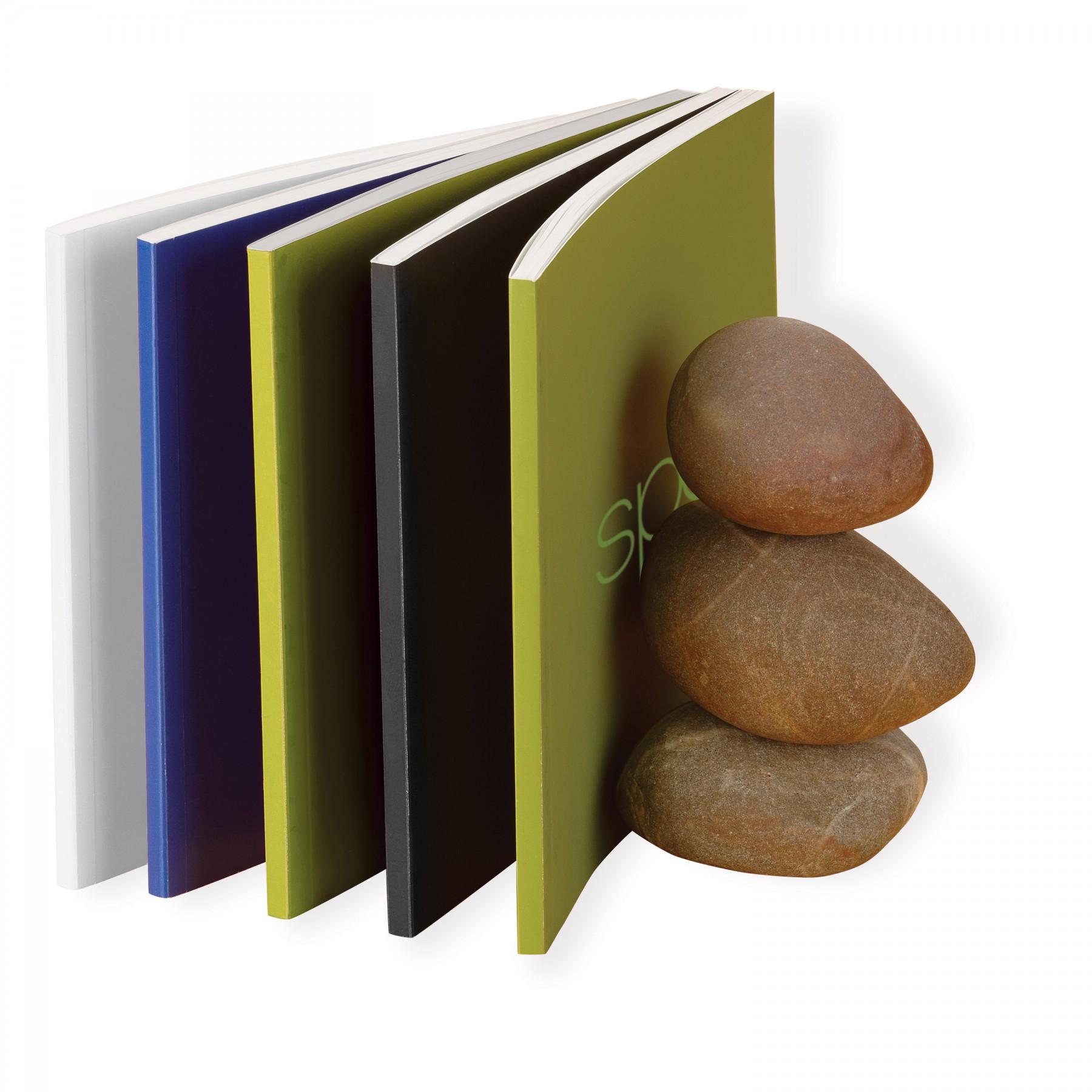 Pietra Stone Paper Notebook - 1 Colour Imprint (EC525)