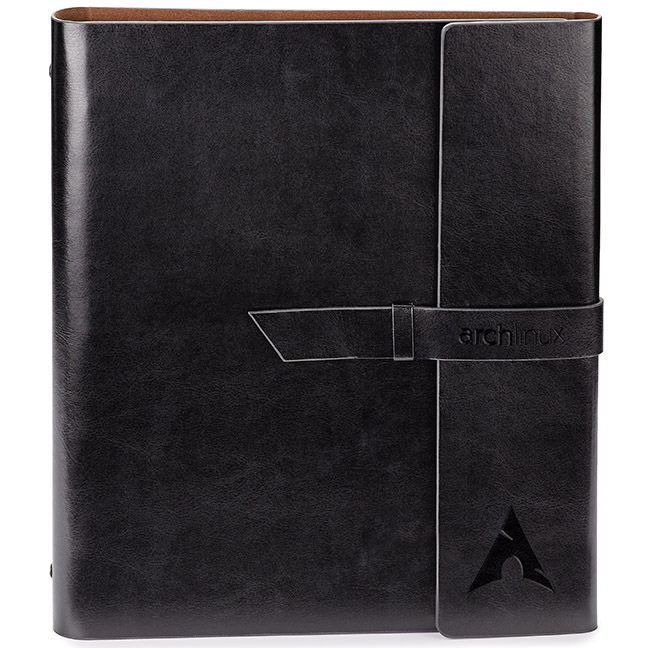 Fabrizio Refillable Portfolio/Eco 3-Hole Notebook/3-Ring Binder - Debossed Imprint (ST4495)