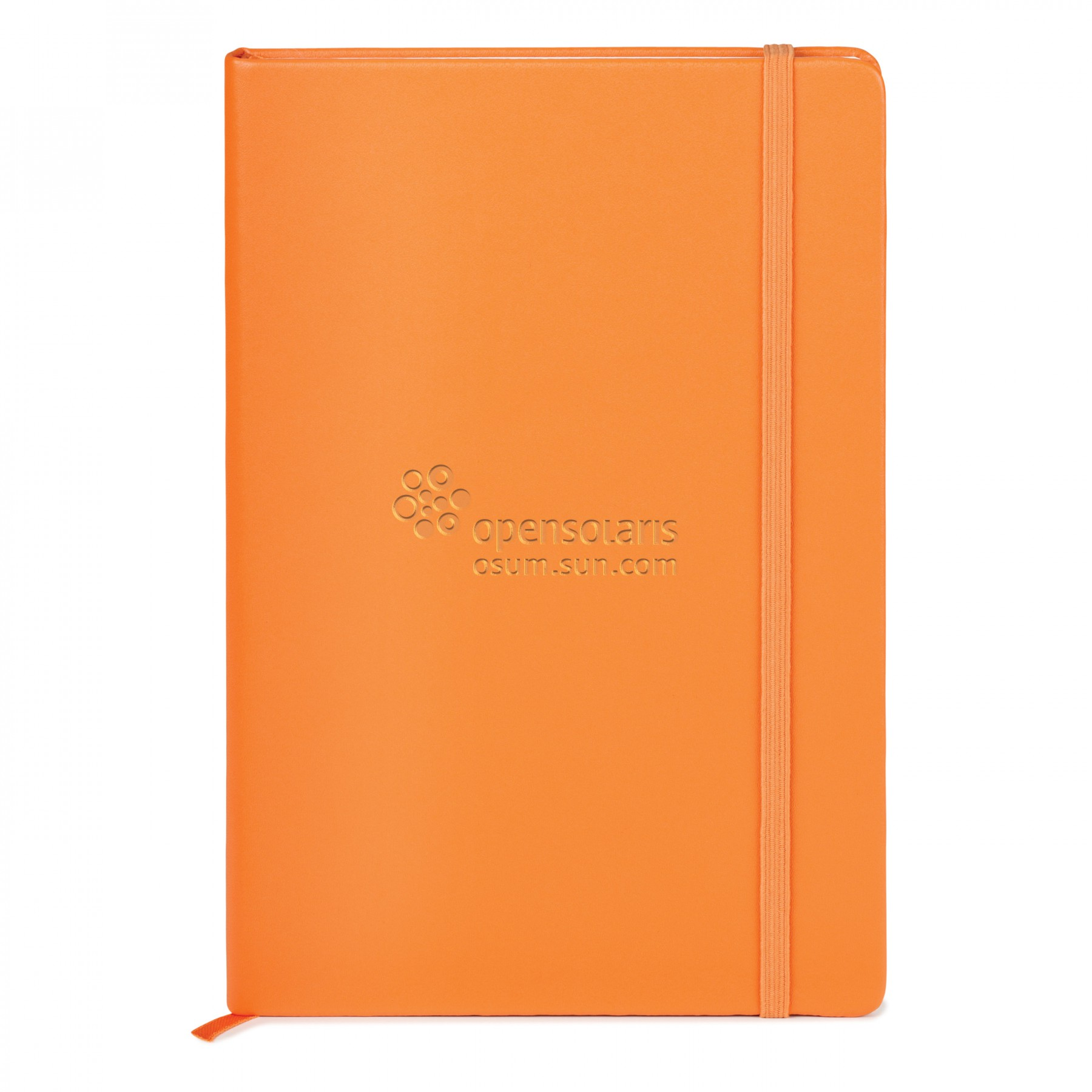 NEOSKIN HARD COVER JOURNAL - Debossed Imprint (ST4143)