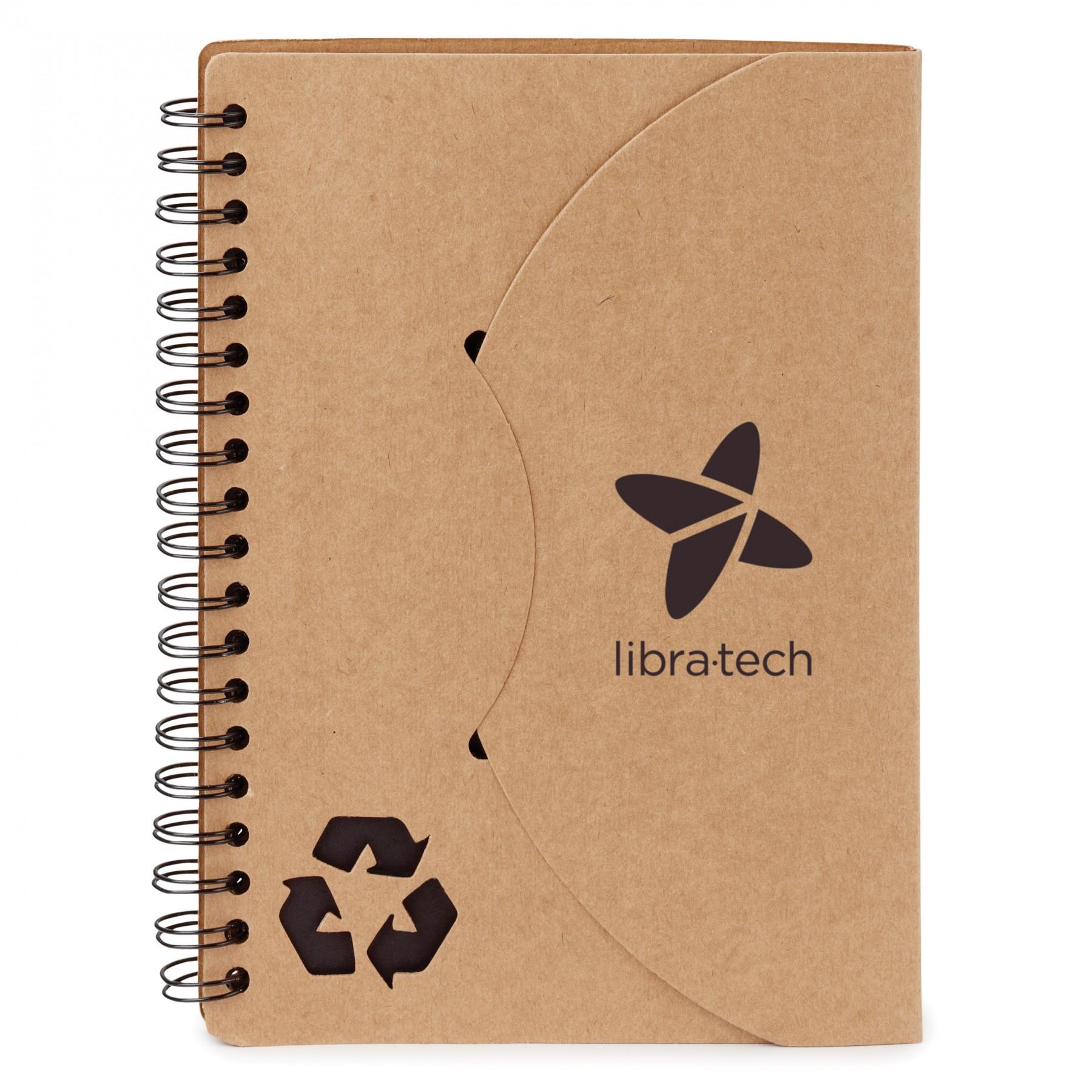 Travis Notebook - 1 Colour Imprint (EC3210)