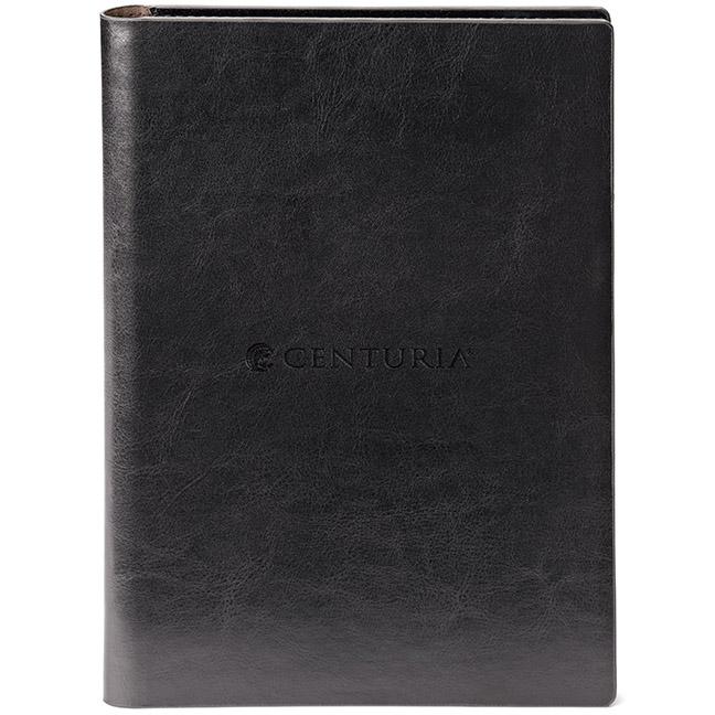 Fabrizio Padfolio & Refillable Eco Notebook, ST4039, Debossed Logo