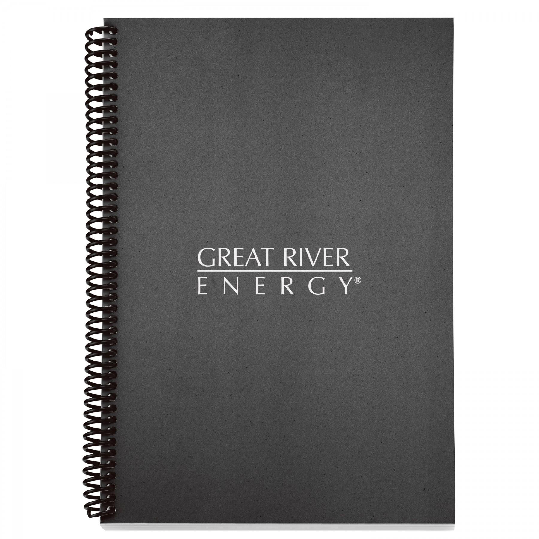 Spiral Eco Notebook, EC3090, 1 Colour Imprint