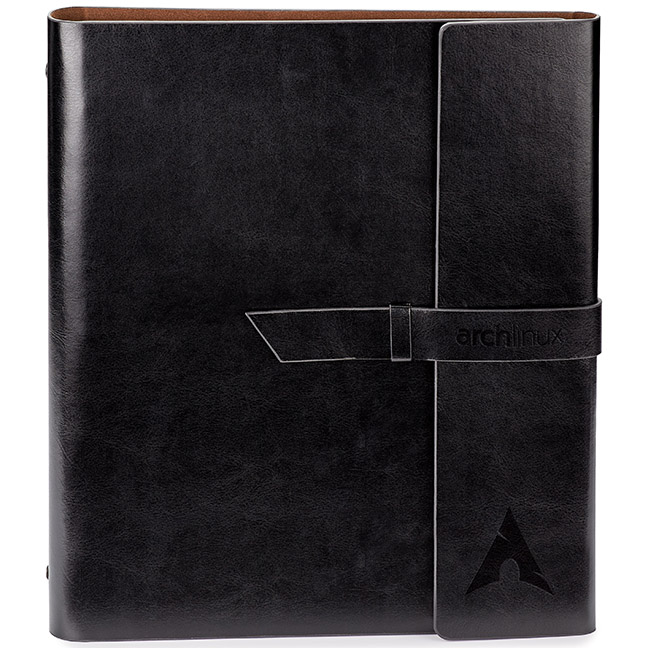 Fabrizio Refillable Portfolio/3-Ring Binder, ST4310, Debossed Logo