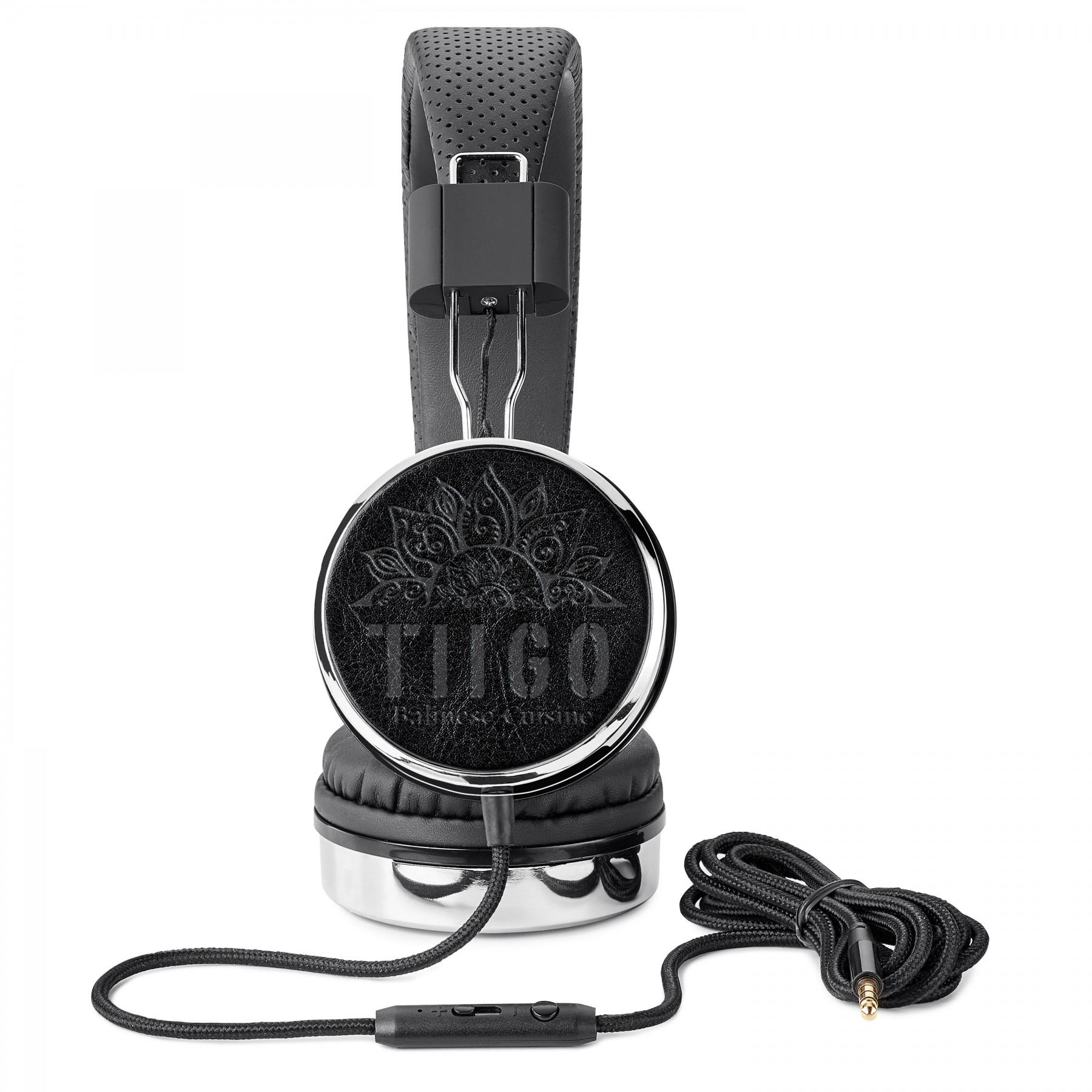 Fabrizio Stereo Headphones, T314, Debossed Logo